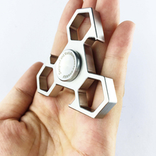hot sale fidget spinner metal material ETN-F03 desk toys for stress reliever