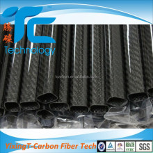 China Factory Carbon Fiber beam 200 Square Tube 50Mm Connectors