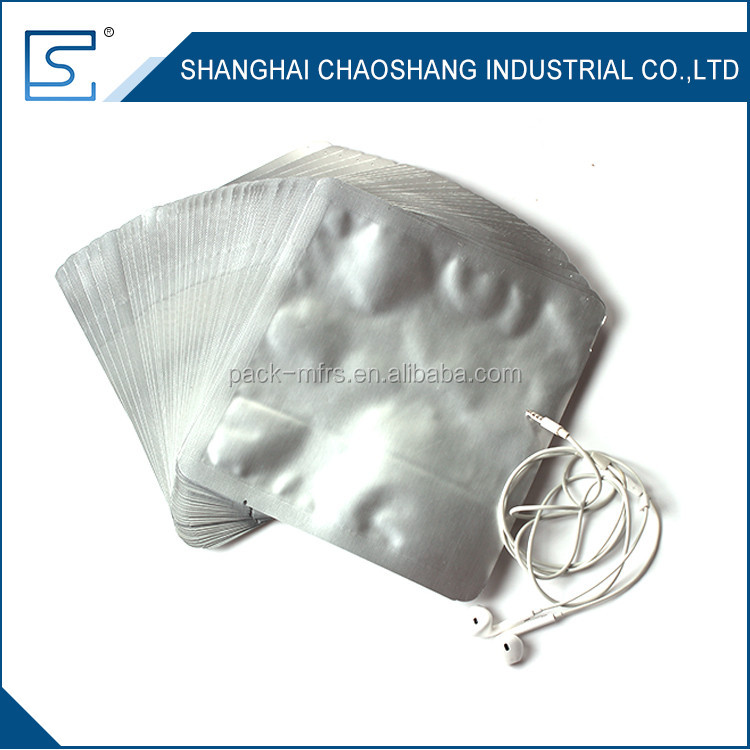 Resealable Suitable For IC Integrated Circuit Safety Aluminum Foil Packaging Bags