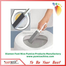 glass pumice sponges for toilet cleaning brick with handle