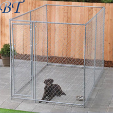 Heavy Duty Large Pet Dog Enclosure Run Kennel Chain Link Fence Outdoor Metal Cage