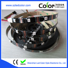 12mm width 2ounce pcb apa102 black led strip