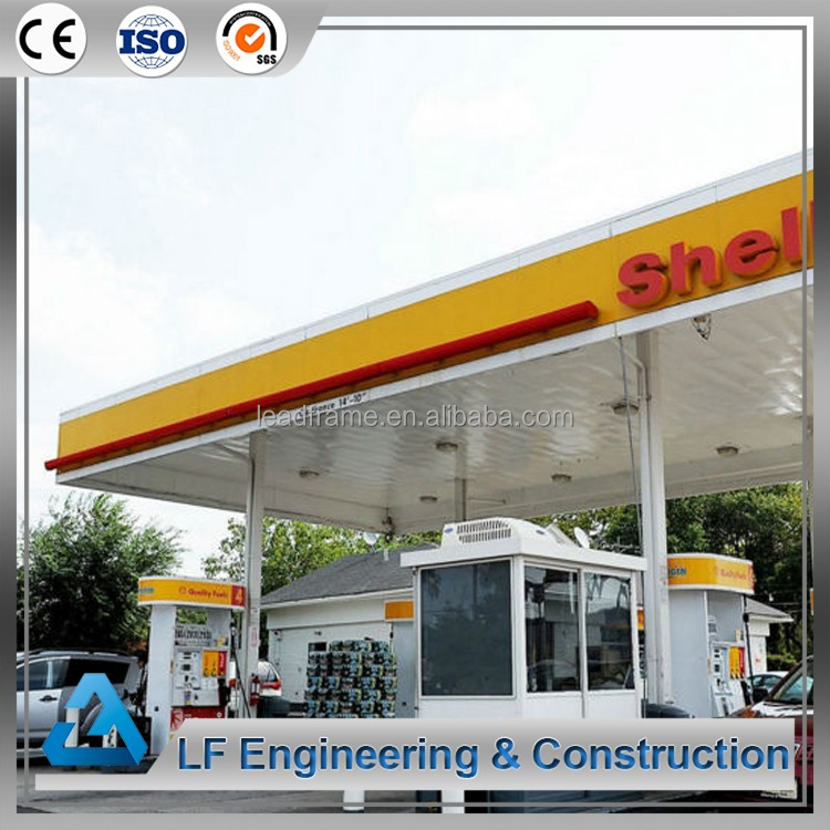 Steel Roof Trusses gas station canopies for sales