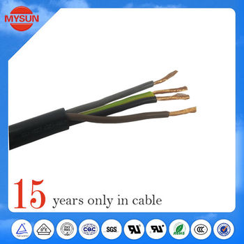 High temperature 4c xlpe cable