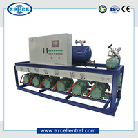 Energy Saving Bitzer Piston Type Parallel Condensing Unit for Commercial Refrigeration