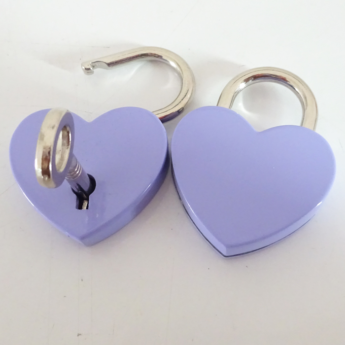 Bulk Supply Metal Mini Love Locks Heart Padlock Gift On Sale