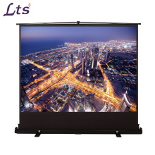 floor standing projector screen portable projection screen