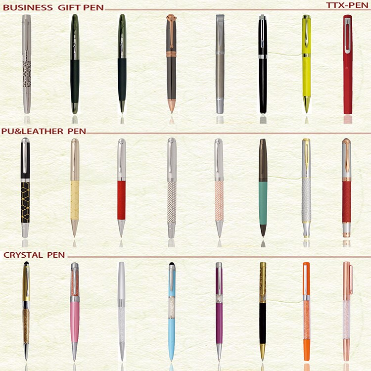 New product modern hotel gift metal ball pen