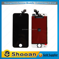 China manufacturer digitizer lcd screen display for iphone 5