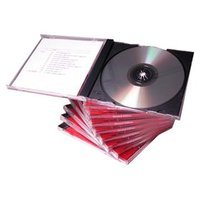 10.4MM CD Jewel Case for 120MM CD Replication