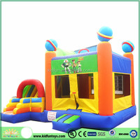 cheap factory inflatable bouncer slide combo