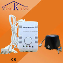home use electric water leak detector water level sensor with shut-off valve