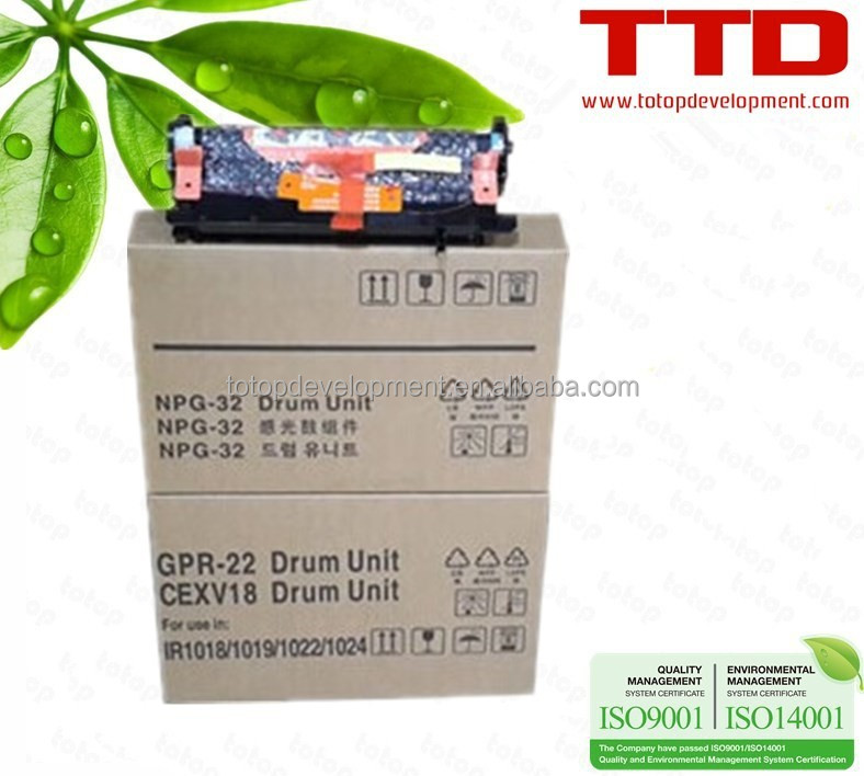 TTD Compatible New Drum Unit NPG28 GPR18 C-EXV14 for Canon iR1024/iR1024iF/iR1024J/iR1022/iR1022iF/iR1022J Imaging Drum