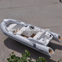 Liya 7 people boat accessories frp console RIB motorboat water taxi for sale
