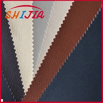 water proof PVC leather for Car seat / sofa , semi-PU leather , factory price