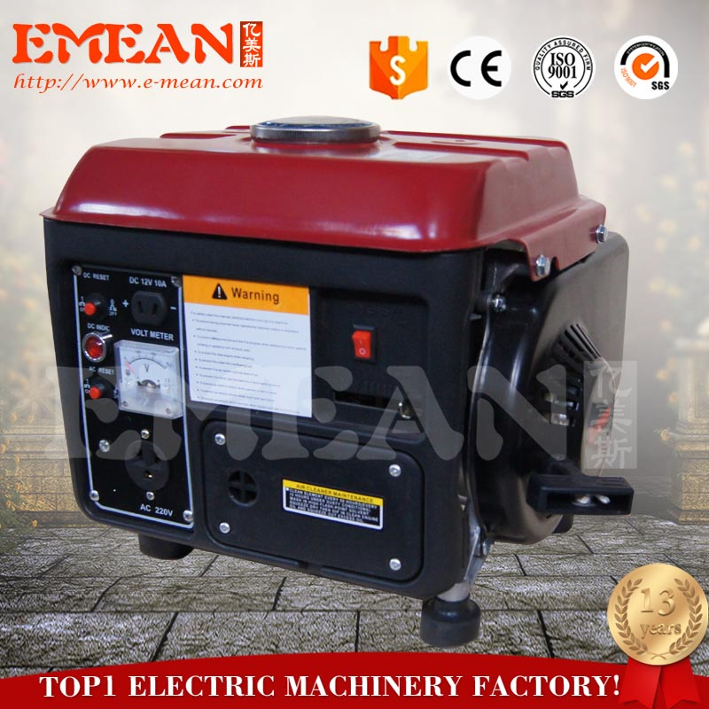 Portable Generator 950 Gasoline Generator with hand start