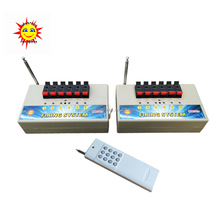 200M remote wireless control sequential consumer fireworks firing system(DBR04-X6/12)
