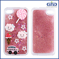 [GGIT] Loverly 3D DIY Liquid Case for iphone 4, for iphone 4 mobile phone case