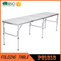 Auminum folding table for hotel and banquet