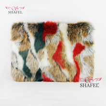 Wholesale High Quality Faux Fur Bags Handbags Fashion Clutch Bag