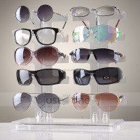 Oakley sunglasses display case acrylic shelf
