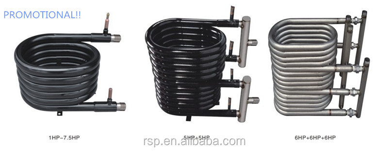 Hot Promotional CE/UL Titanium Coaxial Tube-In-Tube Heat Exchanger