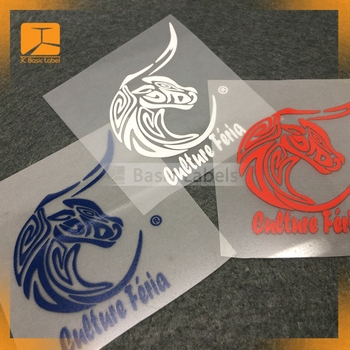 China custom high quality heat transfer printed T-shirt labels or heat transfer for kids garment