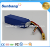 Large discharge current SunB 783496 11.1v 20c 2200mah lithium polymer battery rc helicopter with long battery life