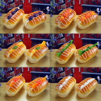 Artificial Hamburger Simulation Bread Model For Display Promotion Decoration