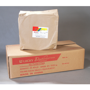 Glossy a4 size photo paper lucky photo chemical