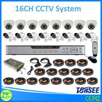 16 channel cctv dvr kits,microwave doppler sensors, 720p megapixels ahd security camera