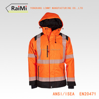 Personal Protective Equipment Clothing Safety 3m Reflective Tape yellow Safety Reflective Jacket