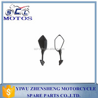 SCL-2013090243 High quality Universal Motorcycle Rear View Mirrors Black