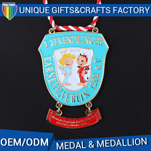 Custom Soft Enamel Zinc Alloy Metal Medal for Kid Children Boys Girls Soccer Game