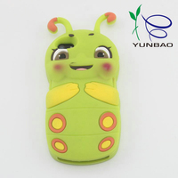 New gadgets china silicone cartoon mobile phone cover