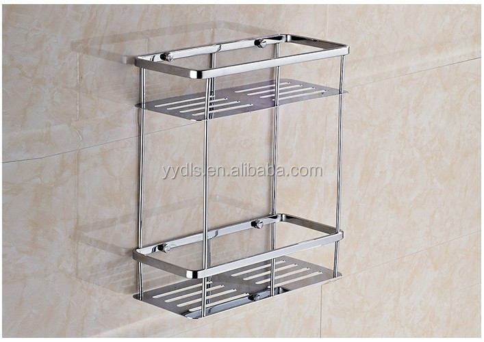 3180 Bathroom Shampoo Rack Stainless Steel Bathroom Shelf