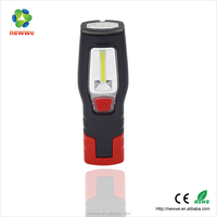 6 LED Torch + 3W COB LED rechargeable blue point led work light