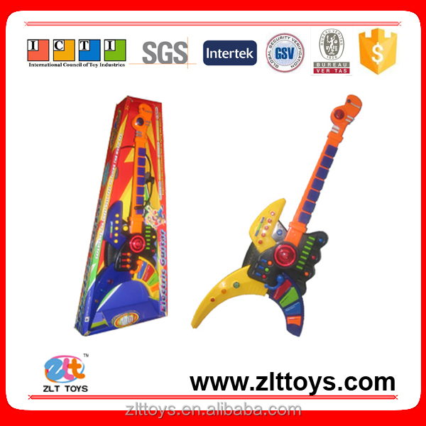 New design electric guitar with earphone kids toys musical instrument