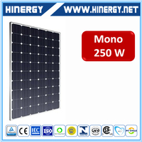 Top Quality Cheapest Price 250w mono solar module 250w black 250w mono crystalline solar cell