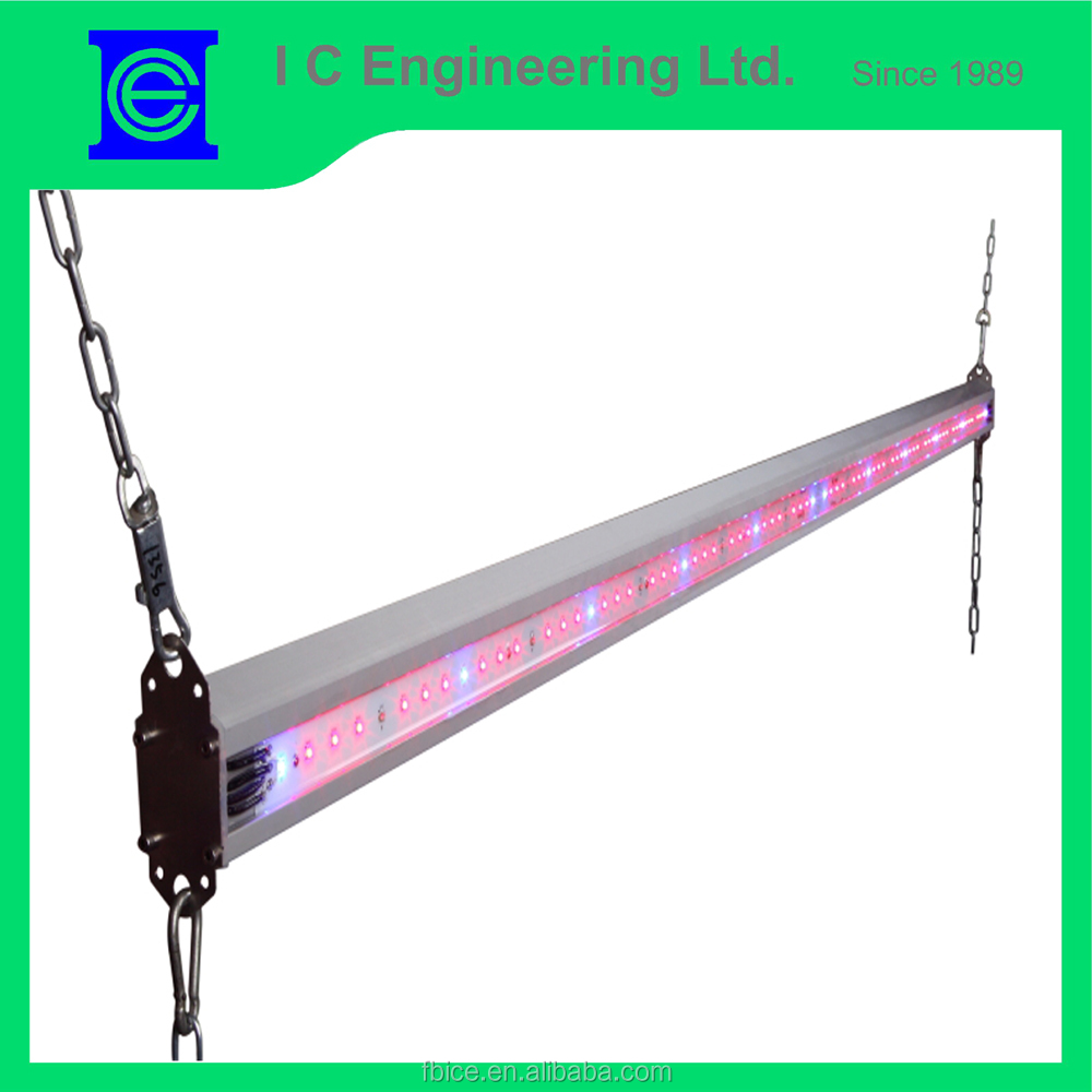 waterproof two-sided 2Meter IR DC Aluminium Alloy LED grow light