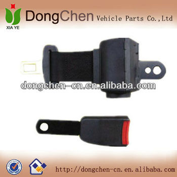 Universal 2 point ALR car seat belt,truck two point safety lap belt