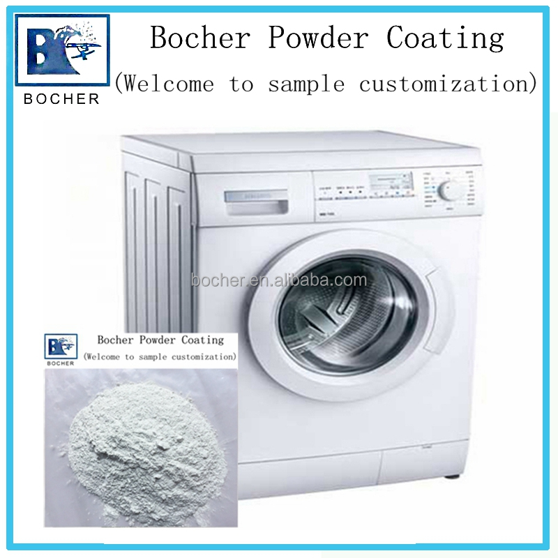 Metallic epoxy powder coating for washing machine thermosetting spray paint