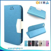 New arrival flip leather cover cell phone case for Huawei Ascend Y6 , wallet case for Huawei Ascend Y6