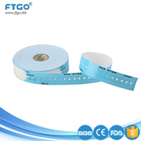 factory supply safety medical id pringting wristband for hospital