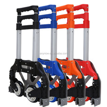 Aluminum Folding Luggage Baggage Hand Trolley