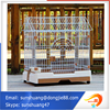 alibaba website com Strong large Capacity Stainless Steel Pet Cage