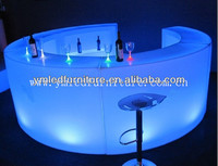 Light up Outdoor Chair/Led Plastic Chair and Table/Led Glowing Furniture