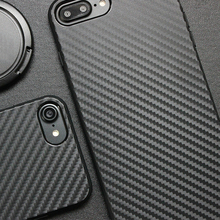 Universal Factory Protective Soft TPU Carbon Fiber Cell Phone Case for iphone X 8 6 6s 5 7 7s 7 plus