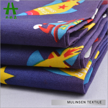 Mulinsen Textile Soft Touch 40s Poplin Cartoon Printed Kids Baby Cotton Fabric