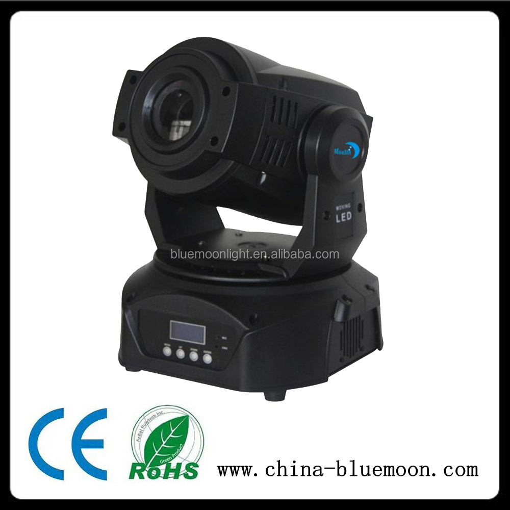 strobe effect led pattern stage light 60w led moving head light